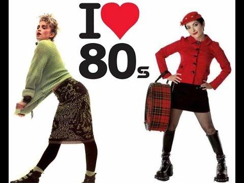 Moda Anos 80 - YouTube