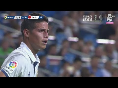 James Rodriguez vs Stade De Reims (Santiago Bernabeu Trophy) -16/17 HD by JamesR10
