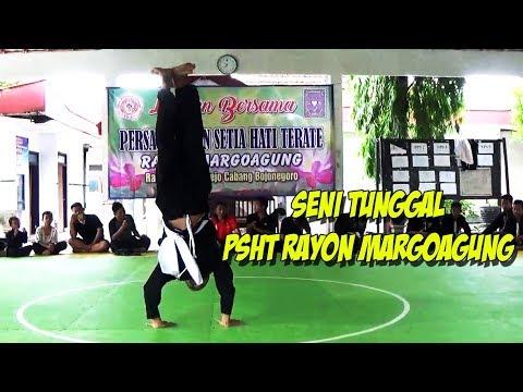 Latihan Bersama PSHT Rayon Margoagung - SENI TUNGGAL
