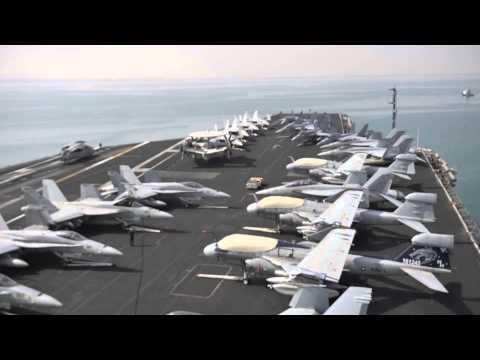 USS Nimitz Suez Transit