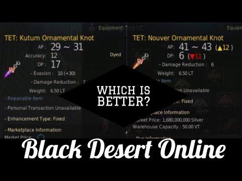 Black Desert Online [BDO] Nouver or Kutum? - YouTube