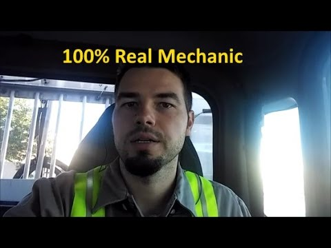 A Day In The Life Of A Diesel Mechanic.  What Being A Diesel Mechanic Is Like.