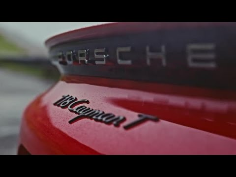 Porsche releases highly thrashable 718 T Cayman and Boxster