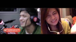 "Michael Pangilinan  ""I'll Make Love to You"" (Boyz II Men) LIVE on Wish 107.5 Bus Reaction"