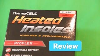 ThermaCell ProFlex Heated Insoles Review