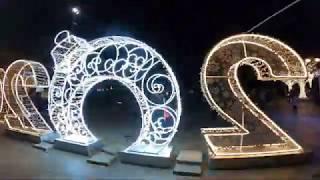 НОВЫЙ ГОД ЯЛТА 2020 НАБЕРЕЖНАЯ ЯЛТЫ ЕЛКА ЯЛТЫ Новогодний Салют Новогодняя Ялта 2020 Ночная Ялта