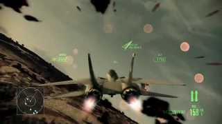 Ace Combat Assault Horizon F-14D Super Tomcat  Gameplay | Elite