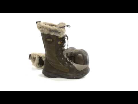 Teva Lenawee Leather Boots - Waterproof, Insulated (For Women)