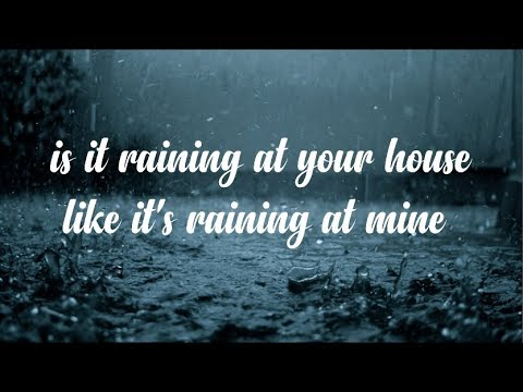 Is It Raining At Your House - Vern Gosdin (with lyrics)