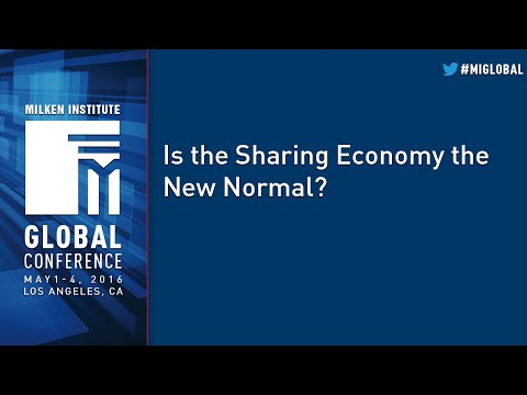 Is the Sharing Economy the New Normal?