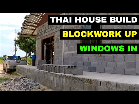 BUILDING A HOUSE IN THAILAND UPDATE - Rural life Thailand Ho