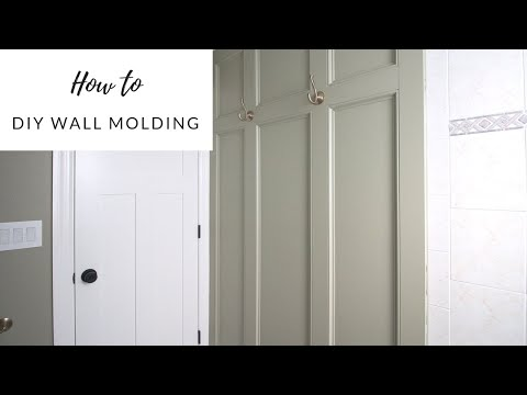 DIY Wood Accent Wall Tutorial  - How to Add Personality to Your Bathroom