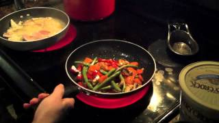 How To Saute Vegetables ... Delicious Easy Fast Cooking!