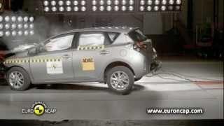 Toyota Auris - 2013 Crash test Euro NCAP