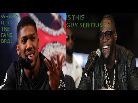 """breaking-news:-anthony-joshua-fired-up,-deontay-wilder-not-until-2020-!-""""-why-are-we-waiting""""-?"""