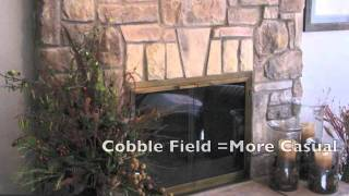 Cobble Stone Fireplace Design Ideas And Pictures.mov