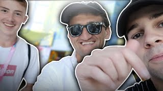 CASEY NEISTAT + DAVID DOBRIK TOOK MY CAMERA AND VLOGGED FOR ME! | *VIP* Rooftop Party Vlog @ VidCon