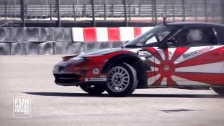 Curso de drift con FunMotorHouse y la Escuela Española de Pilotos