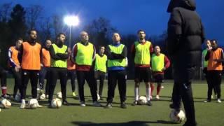 Eignungstest zur Trainer-B-Lizenz, Sportschule Schöneck