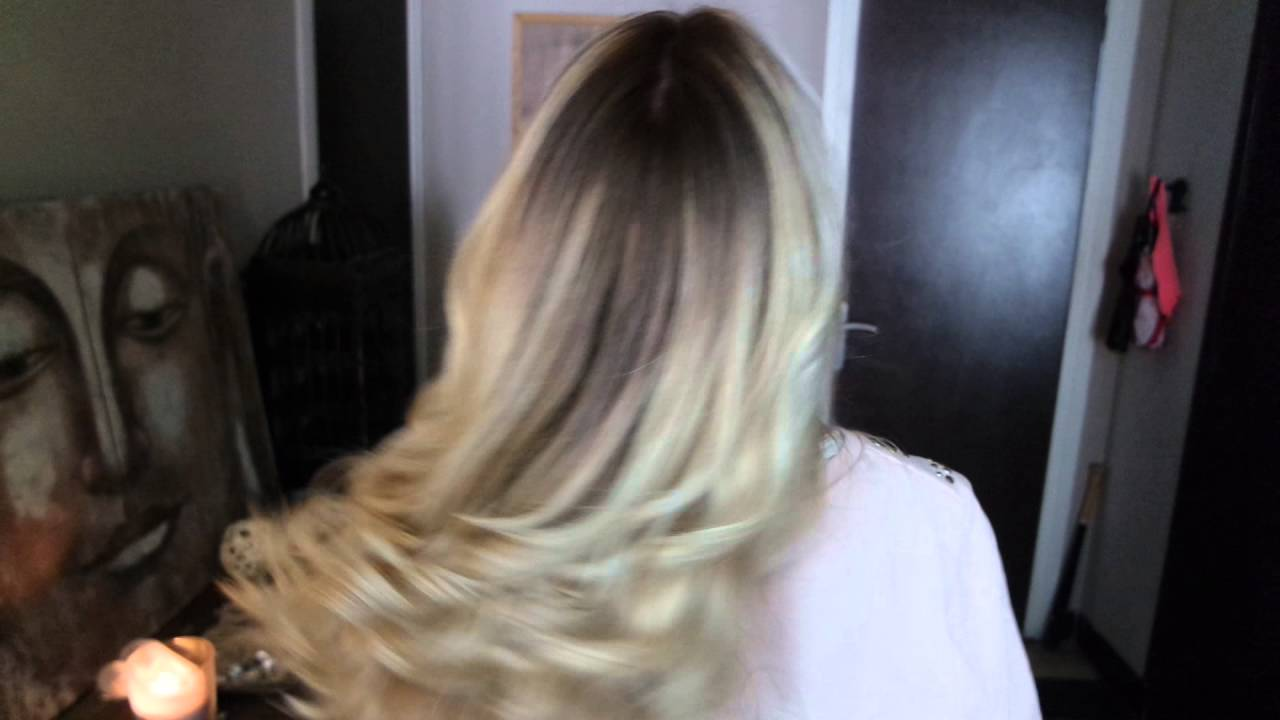 blond froid olaplex joico ombr balayage youtube. Black Bedroom Furniture Sets. Home Design Ideas
