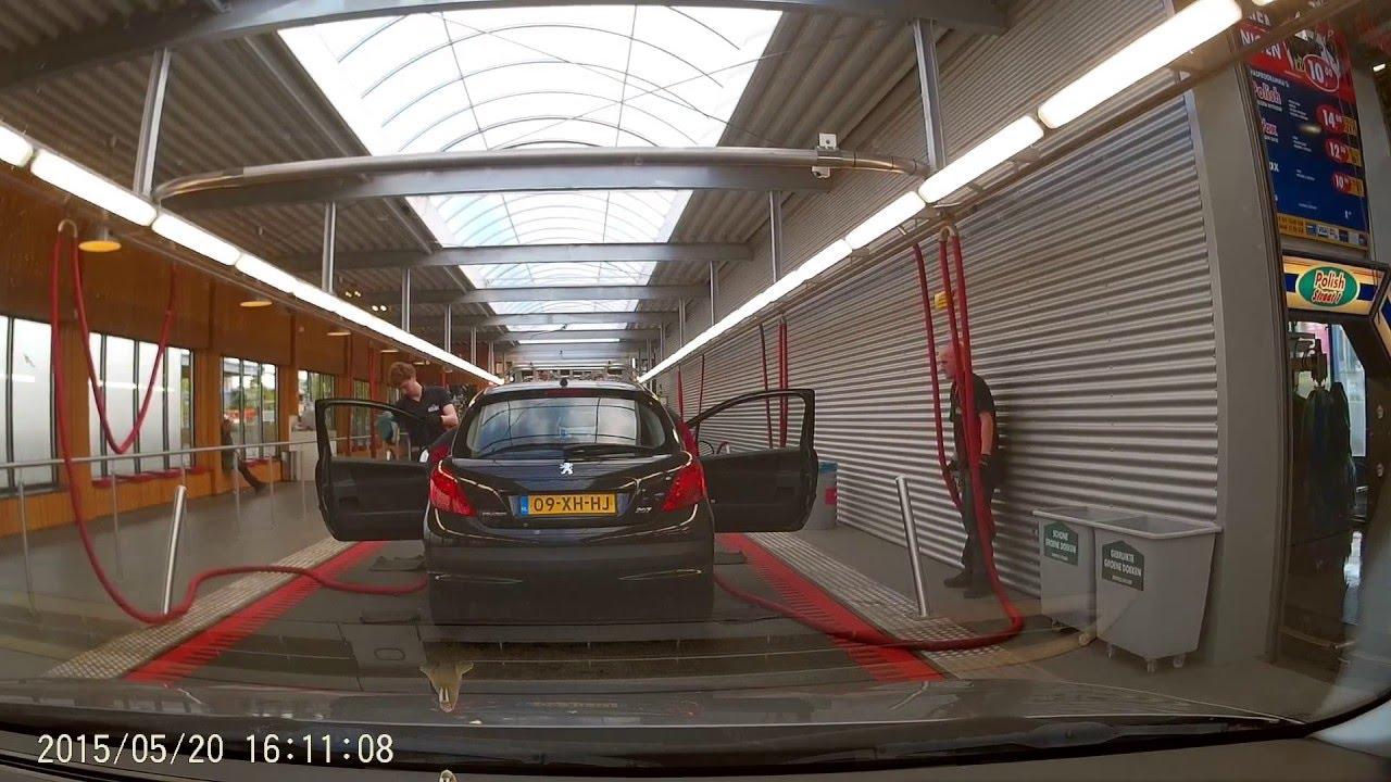 ANAC Carwash Nijmegen - Interieur & Exterieur - G1WH Dashcam - YouTube