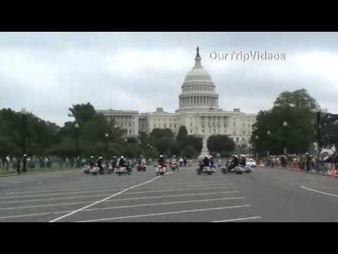 Philadelphia P.D. Motorcycle Drill Team, Washington DC, US - Part 1
