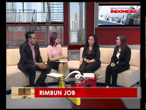 "RimbunJOB - Talk show in MNC business ""Morning Talk"""