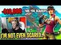 Tfue *SCARED* in $10,000 1v1 Challenge vs Creative Legend...
