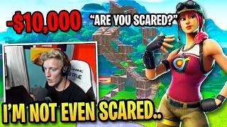 Tfue *SCARED* in $10,000 1v1 Challenge vs Creative Legend...