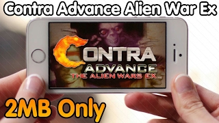 [2MB Only]CONTRA ADVANCE THE ALIEN WARS EX ANDROID DOWNLOAD