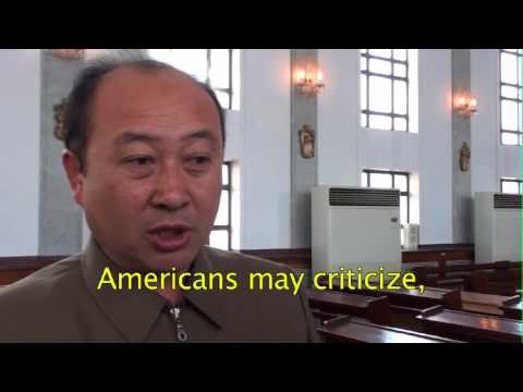 Interview of an Official Of The Catholic Church In Pyongyang North Korea (english sub)