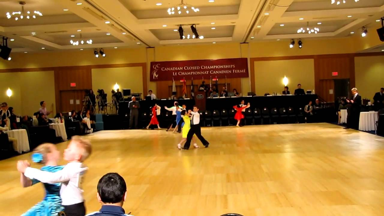 Canadian Closed Amateur DanceSport Championships and the SnowBall Classic  2012, Vancouver, BC