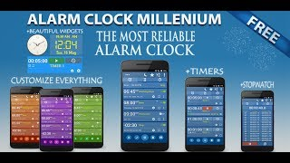 Alarm Clock +Stopwatch +Timer, FREE for Android
