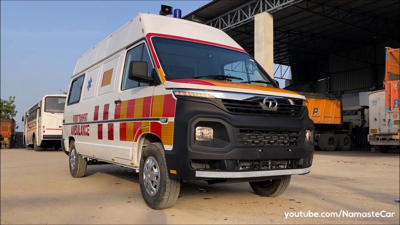 Tata Winger Patient Transport Ambulance 2021 | Real-life review
