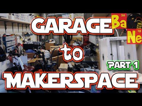 Building my Makerspace & Video Recording Studio Part 1!