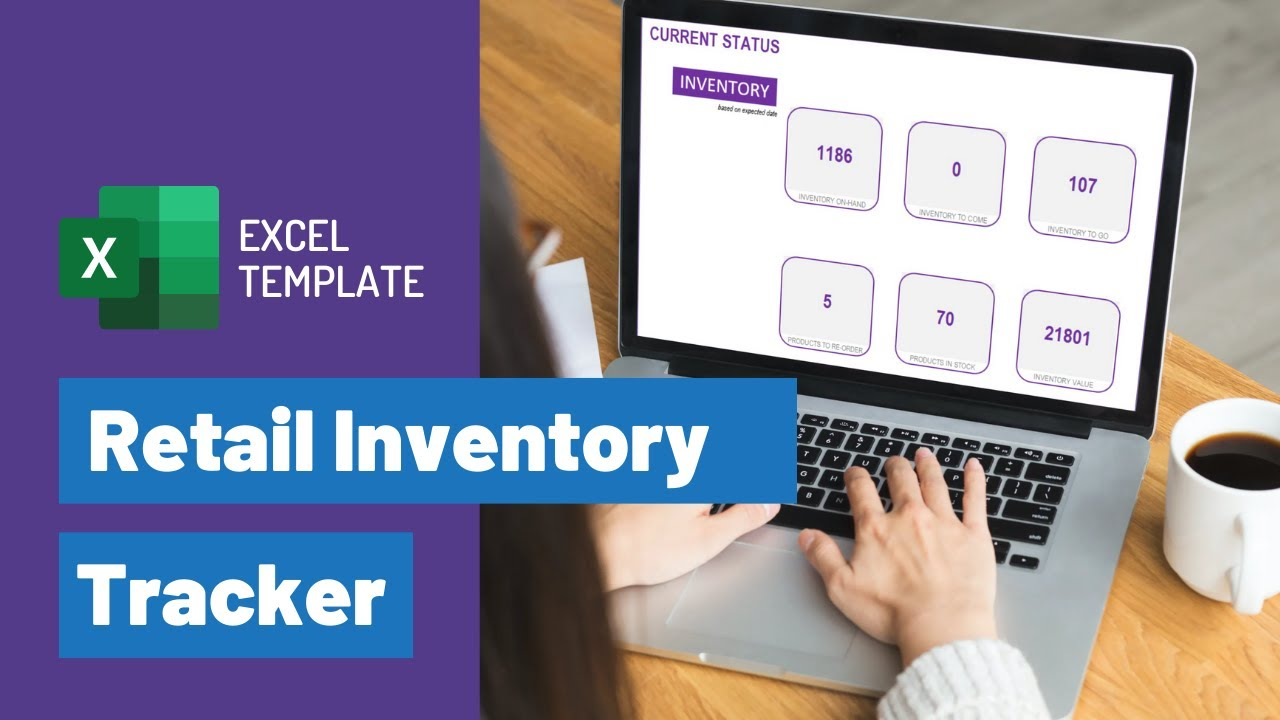 How To Manage Inventory Using Free Excel Template Retail Stock Tracker