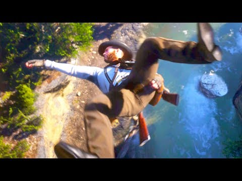 Red Dead Redemption 2 - Brutal Epic & Funny Moments Compilation #11