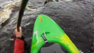 Boofing the Duff Falls