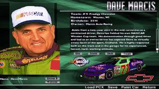 NASCAR Racing 2 Drivers and Tracks