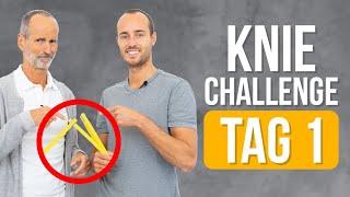 7-Tage Knie-Challenge ❇️ Tag 1 ❇️ ES GEHT LOS! (Knieschmerzen, Übungen)