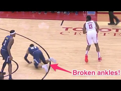 Best Crossovers and Ankle Breakers SO FAR