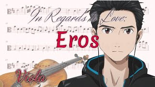 In Regards to Love: Eros - Yuri!!! on Ice (Viola)