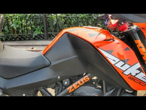 Minimum Modification I KTM Duke 200