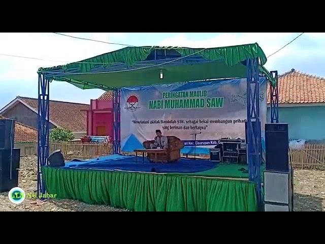 Sholawat Nabi Muhammad SAW di Peringatan Maulidurrasul Desa Situsari Cisurupan Garut