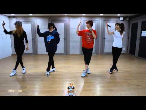 GLAM - In Front Of The Mirror mirrored Dance Practice