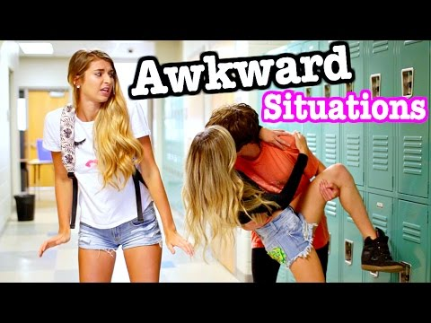 AWKWARD Situations at School!