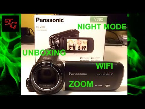 Panasonic HC-V380 CamCorder Camera Review