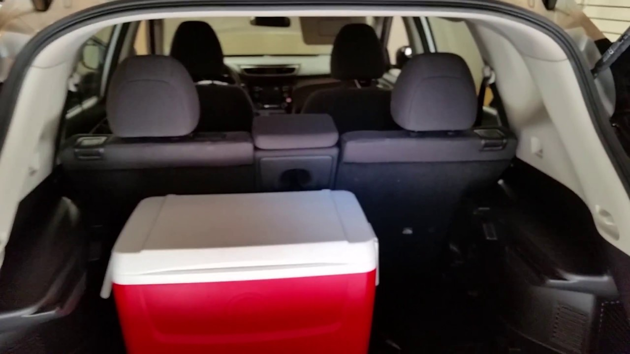 2016 Nissan Rogue Suv Checking Cargo E With 2nd Row Of Seats Up