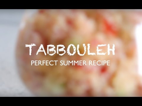 How to: tabbouleh