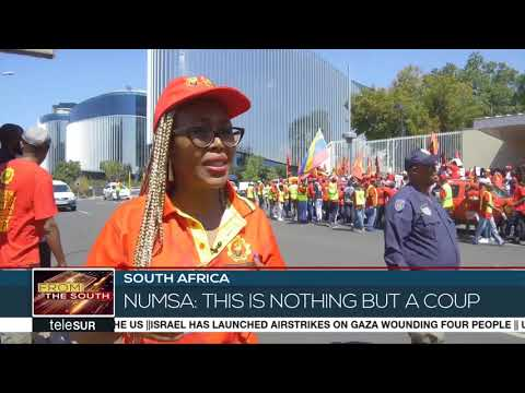 South African Workers Rally in Solidarity With Venezuela
